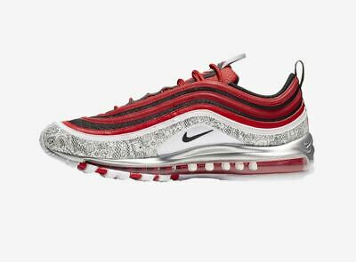 Jayson Tatum x Nike Air Max 97 Red Black Grey For Sale