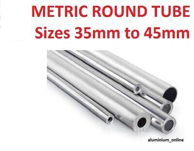 ALUMINIUM ROUND TUBE METRIC 6mm 8mm 10mm 12mm 13mm 14mm 15mm 16mm 18mm 19mm 8