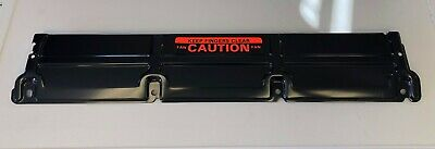 68-77 Chevy Chevelle Heavy Duty Radiator Support Panel Cover Black Decal Cauti