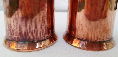 Arts & Crafts pair of Copper vases - believed to be Keswick KSIA 12