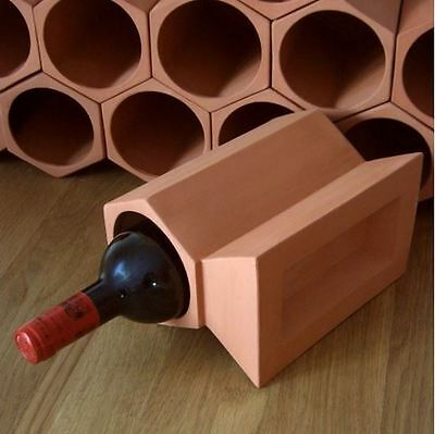 24-bottle Terracotta Wine Cellar