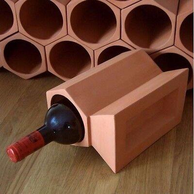 Terracotta 7-bottle Wine Cellar 3