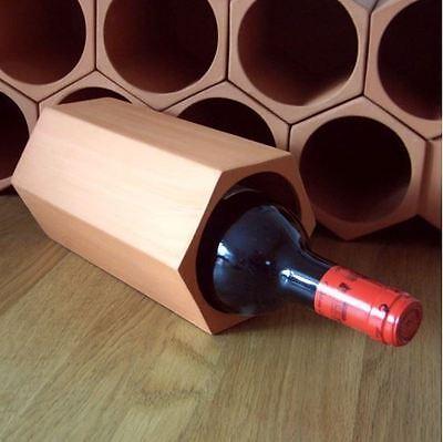 Terracotta 7-bottle Wine Cellar