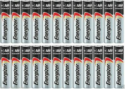 24 Energizer AAA E92 Max Alkaline Batteries Exp. 2029 3