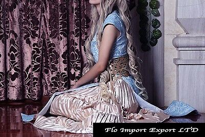 Trono Regina Vestito Carnevale Donna Throne Queen Dress up Woman Costumes GTH003 8