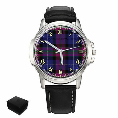 Pride Of Scotland Scottish Clan Gents Mens Wrist Watch Gift Engraving 2