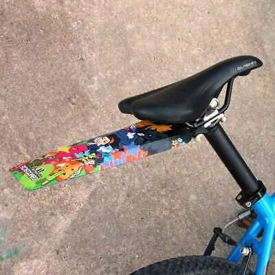 MTB Kids Mudguard Dink Front Mountain Bike Bicycle Fender RideGuard Geo Orange