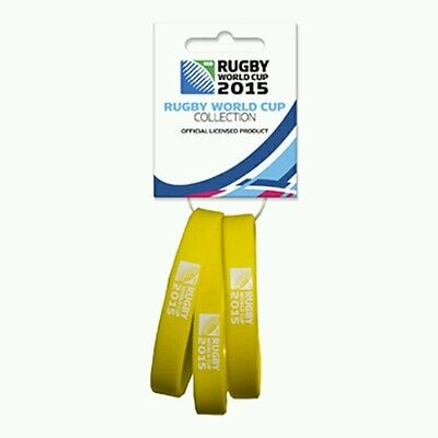 Rugby World Cup 2015 wristbands - set of 3 -20 Nations