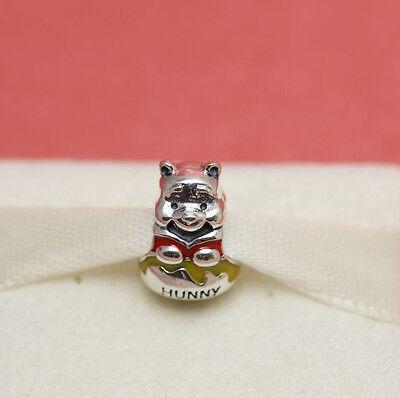 e0c221ac4 Authentic Pandora Disney Winnie The Pooh Honey Pot 791919ENMX Charm 3 * New!