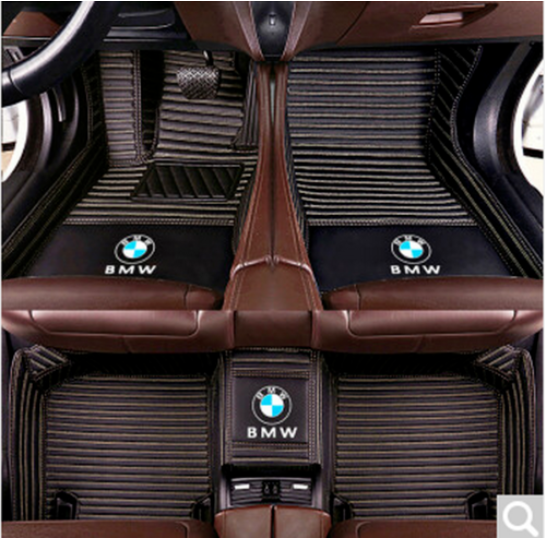 For Car Floor Mats BMW 3 Series E36 E46 E90 F30 G20 ,All Weather Floor Mats 4