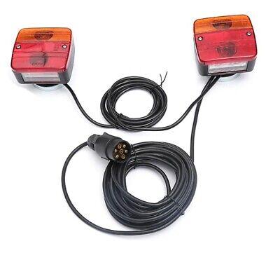 Pré Câblé Van Remorque Arrière Lumière Tableau Phares+7,5m Câble avec E4 3