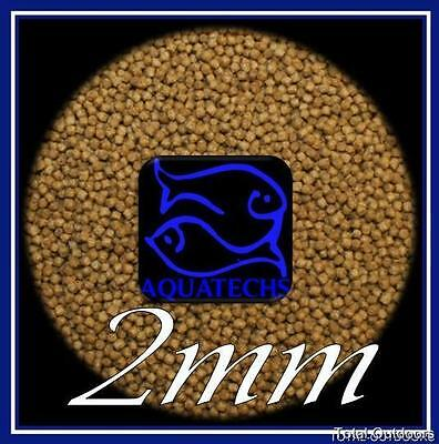 Goldfish pellets 100g complete gold fish food 2mm high grade premium fish feeds 2 • EUR 3,84
