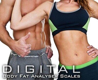 Wireless Digital Bathroom Body Fat Scale 180KG Bluetooth Scales Weight BMI Water 2