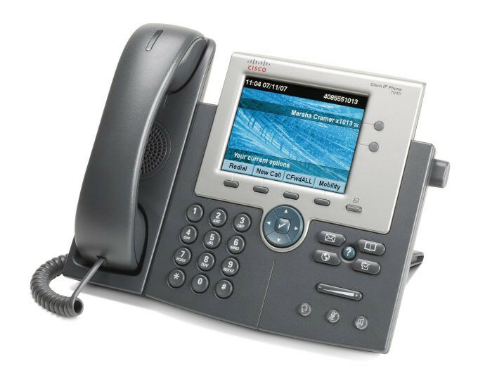 Cisco 7945G IP Gigabit Telephone Phone