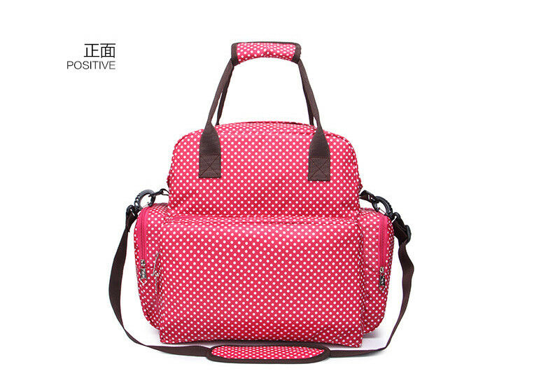Large Capacity Mummy Bag Baby Diaper Nappy Maternity Changing Travel Backpack US 12