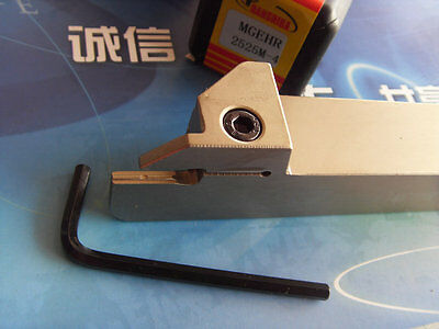 MGEHR2525M-4 External Grooving Parting-off Tool 25mm*150mm for MGMN400 4mm Width