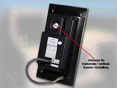 """110°Kamera Video Türsprechanlage/Bildspeicher /16-Melodien 7""""Monitor/Edelstahl 5"""