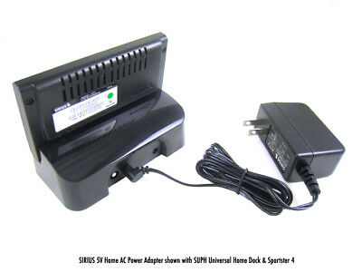 NEW Universal 5 Volt Home AC Power Adapter for SIRIUS /& XM w//SIRIUS Logo