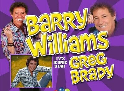 Welcome to BARRY WILLIAMS DIRECT! 8x10 PHOTO #4 SIGNED TO YOU! * THE BRADY BUNCH 3