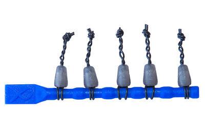 Rubber Connectors Connector Rubber Einhänger Grey Matrix DACRON CONNECTORS 5 pcs