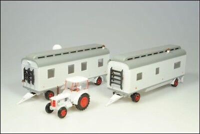 SDV Kunststoff Modellbausatz 1:87 H0 Zirkusset Traktor Zetor 50 m 2 Zirkuswagen