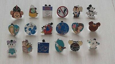 ~! 50 Mickey Disney Collectible Trading Pins Lot! 100% tradable HM LE CAST~! 3