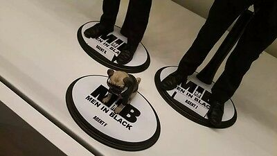 """Custom 1/6 Scale Figure Stand Decal 12"""" Hot Toys"""