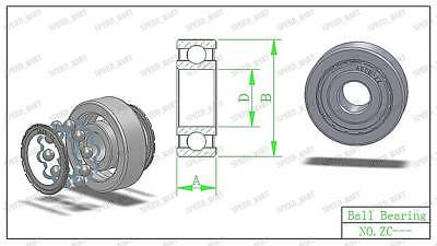 Fits 6002 2RS High Quality Ball Bearing 15 32 9mm Rubber Shields