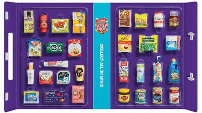 Coles Little Shop Mini Collectables 1 + 2 Gift Card Vegemite Full set Free post 2