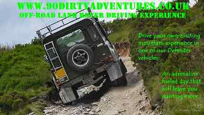 September 2019 Land Rover Driving Experience any Saturday. 10