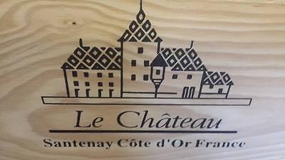 1 X Genuine French Wooden Wine Box Planter Hamper Display Storage Wedding Decor