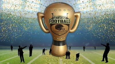 """Fantasy Football Trophy Blow Trophy GIANT Inflatable 24"""" x 20"""" Annual Perpetual 2"""