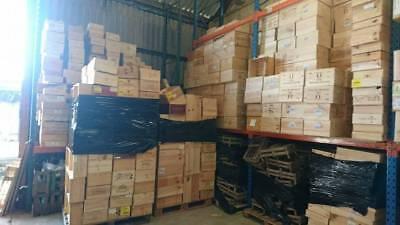 6 x GENUINE FRENCH WOODEN WINE CRATES BOXES  PLANTER HAMPER DRAWERS STORAGE..... 11