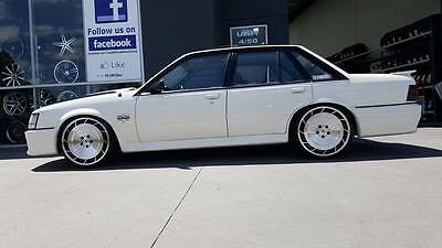 4X 20 INCH AERO BLACK Wheel HOLDEN COMMODORE VL VK VT VY VZ VE VF SS GROUP  Brock