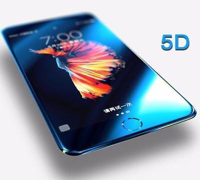 Pellicola Vetro Temperato 5D CURVO Protezione Completa per iPhone XS MAX XR 7 8 7