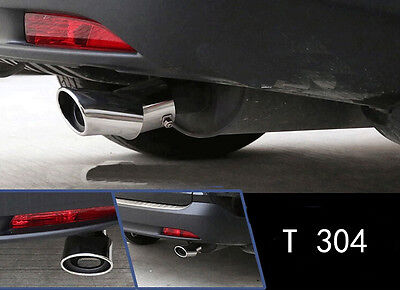 Stainless Rear Exhaust Muffler Tip End Pipe 1pcs For Honda CRV 2012-2015 2.0L