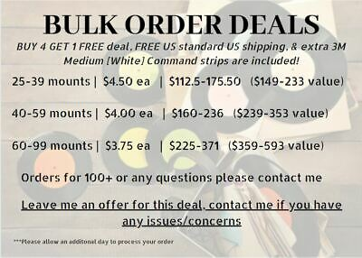 BUY 4 GET 1 FREE- Vinyl Record Wall Mount/Display/Frame, PREVENT DAMAGING WALLS 7