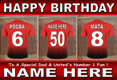 LARGE A5 PERSONALISED 3D FOOTBALL BIRTHDAY CARD FOR ANY RELATIVE// AGE//NAME