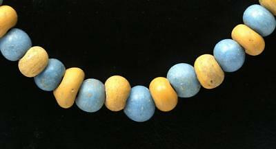 Greco-Phoenician Necklace w/ Glass Beads Lot 27E