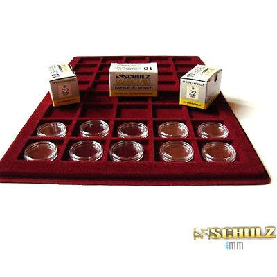 ( ProSHULZ ) COIN CAPSULES - All Internal Sizes 14mm - 42mm (10, 30, 50, 100pcs) 8