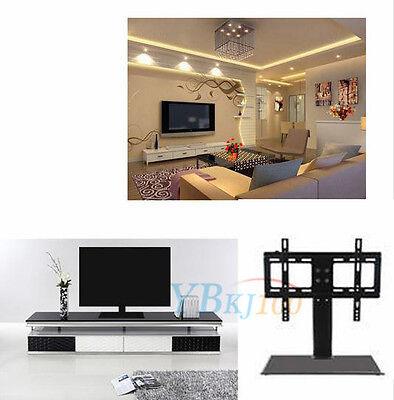 Adjustable Universal Desktop Tv Mount Stand Bracket Monitor For 26