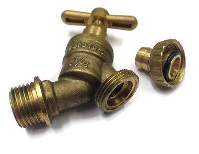 """Bib Water Tap 1/2"""" Hose x 1/2"""" Male Thread   Garden & Irrigation 4"""