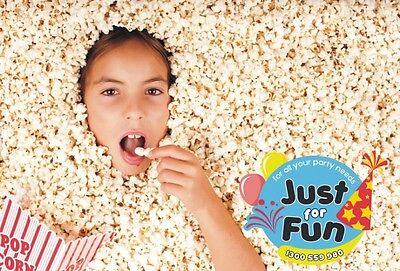 Gold Medal Popcorn Salt, 8 x Savory Flavour Sample Pack for Popcorn Machines 2