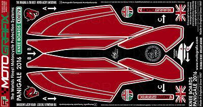 Ducati Panigale 899 2013 14 15 Motorcycle Tank Pad Motografix 3D Gel Protector