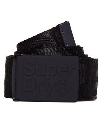 SUPERDRY Canvas Wallet LINEMAN Trifold Navy multi Coin Key Ring Wallets BNWOT