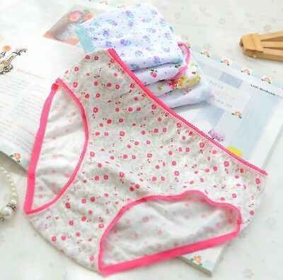 12Pcs Set Kids Girl Panties Underwear for Children Underpants Cotton Short Brief 3