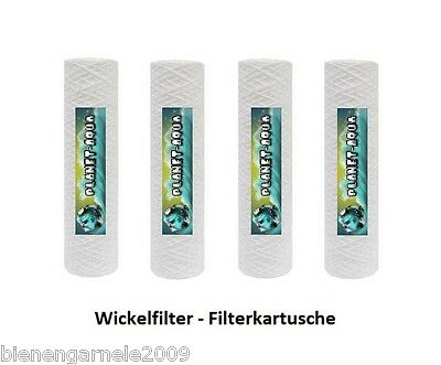 Sedimentfilter 10 Zoll 100µ Ersatzfilter Wasserfilter Osmoseanlage Umkehr Osmose 2