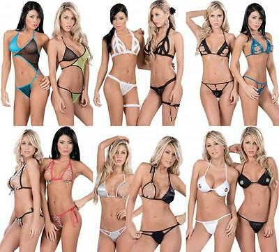 RX1 WHOLESALE LOT Sexy 100 Pieces LINGERIE BIKINI CLUB WEAR DANCER RAVE S M L