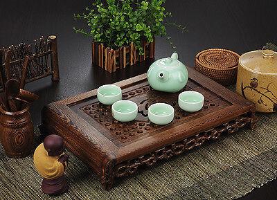 Tea tray wenge wood tea table Rosewood tea table solid wood water holder layers 4
