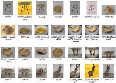 Teakholzschale Kunstwerk der Natur Tischdeco Möbel & Wohnen Dekoration Gefäß